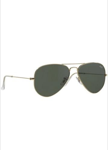 Ray Aviator RB3025 L0205 58mm Gold Frame/Green Classic!!