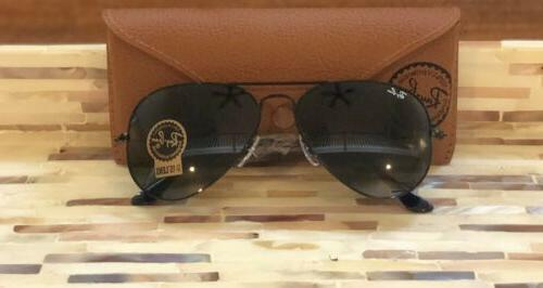 Ray-Ban Sunglasses L2823 58mm Black Crystal