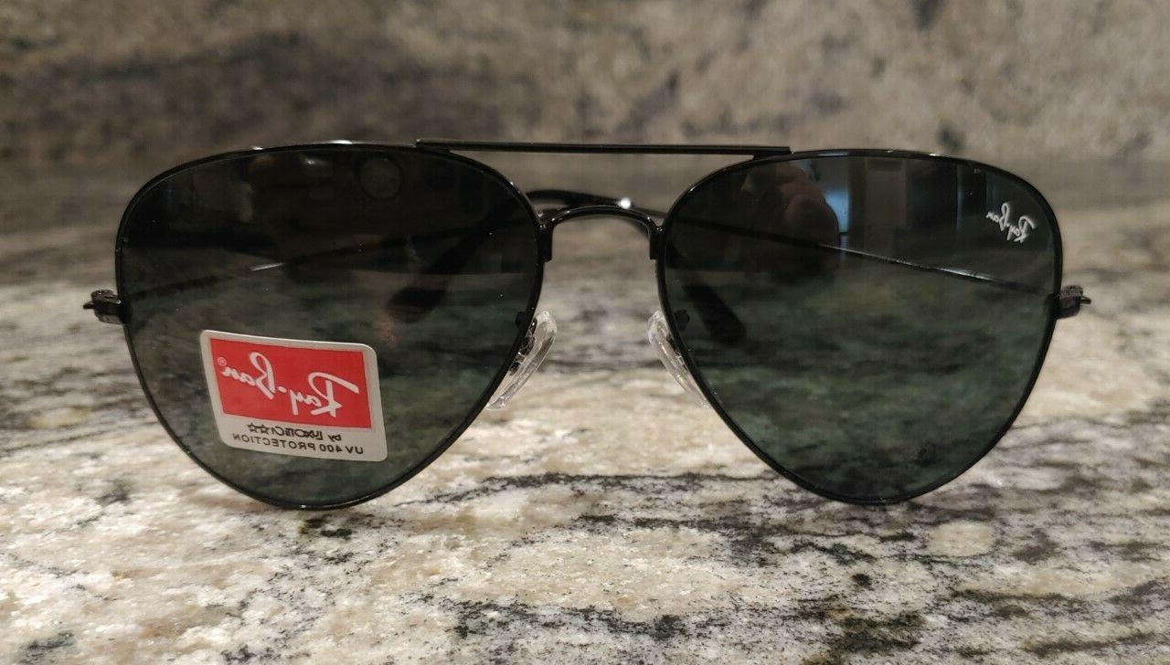 RAY-BAN G-15 AVIATOR BLACK FRAME 62MM. DELIVERY IN DAYS