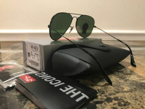 Ray Ban RB3025 Aviator Classic size