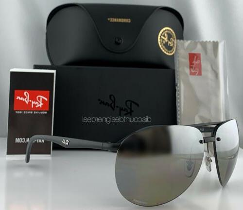 ray ban rb4293ch aviator sunglasses 601s5j matte