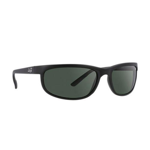 Ray-Ban 2 Icons Sports Sunglasses - Black/Matte Black/Crystal Green/G-15 / One Size All