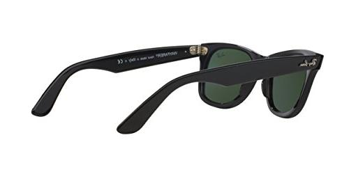 Ray-Ban WAYFARER - BLACK Frame Lenses 50mm Non-Polarized