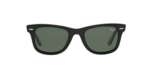 Ray-Ban WAYFARER - BLACK Frame CRYSTAL 50mm Non-Polarized