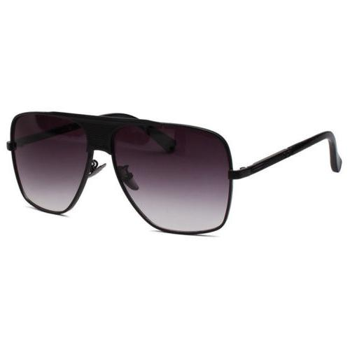 Retro Aviator Bar Sunglasses Classic Designer