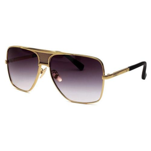 Retro Aviator Metal Fashion Sunglasses