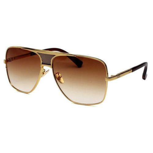Retro Aviator Bar Fashion Sunglasses