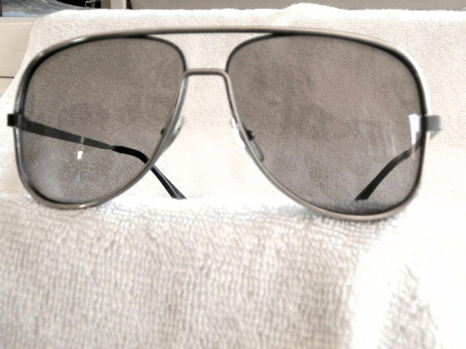 SILVER AVIATOR FRENCH SUNGLASSES BY JEAN PAUL LAMY