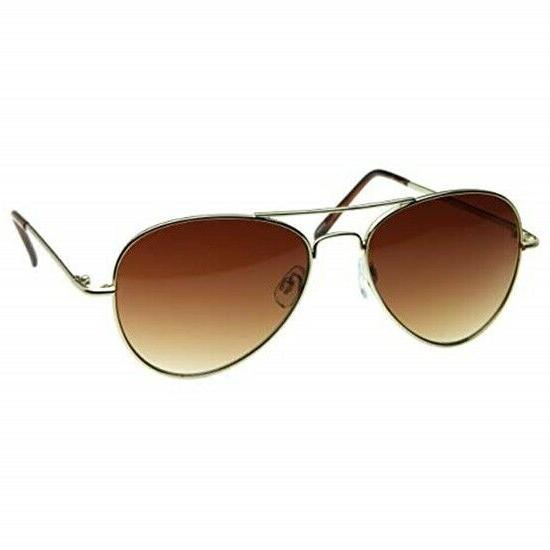 Womens Aviator Sunglasses Small Faces 50mm NWT