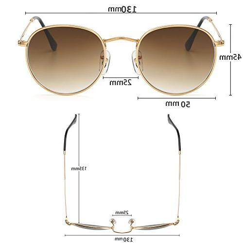 Small Round Lenses UV Protection Sunglasses