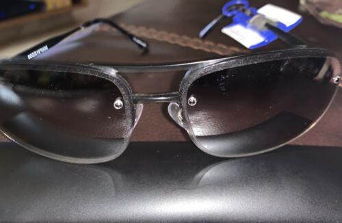 Apt Black Aviator Mirrored 100%