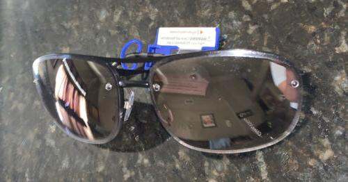 Apt Sunglasses Aviator Mirrored Fade 100%