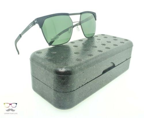 ic! berlin Sunglasses Metropolis Matrix Black / Green Polari