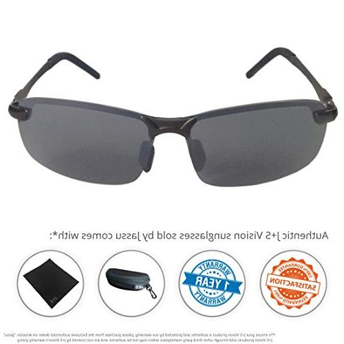 J+S Ultra Rimless Polarized, 100% Protection