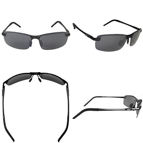 J+S Ultra Rimless Sports 100% UV