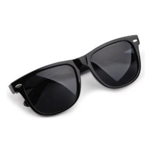 UNISEX Sunglasses  CLASSIC Black Frame 100% UV NEW MEN WOMEN