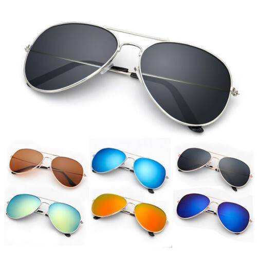 uv 400 mirrored sunglasses for men women