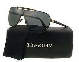 Versace VE 2140 100287 Gold Metal Aviator  Sunglasses for Me