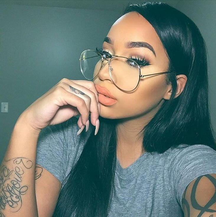 HAPTRON Classic Round Clear glasses Brand