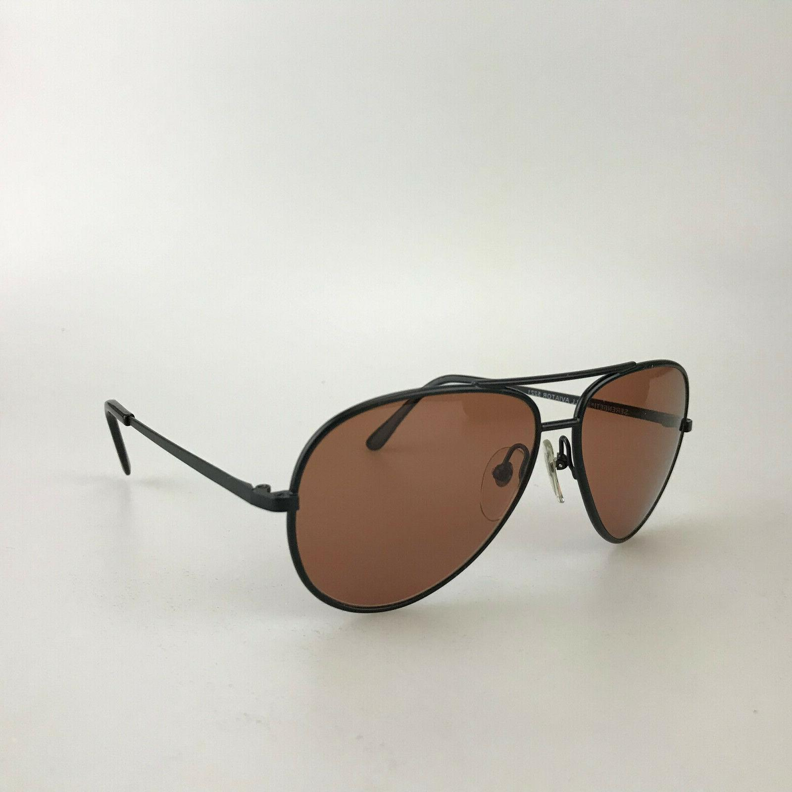 Vintage Sunglasses mod. Small Aviator 5221 Black
