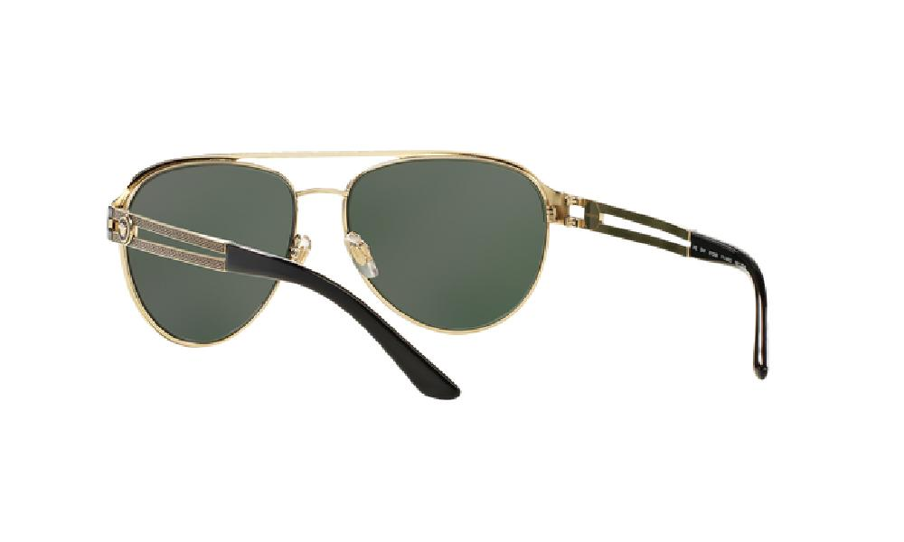 Versace Sunglasses 136671 Pale Gold Grey