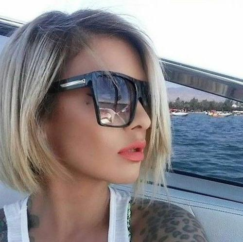 "Women Sunglasses XXL OVERSIZED ""Lauren"" Aviator Square GAFAS"