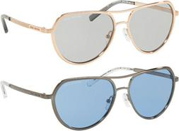 Michael Kors Madrid Women's Modified Metal Aviator Sunglasse