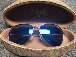 Maui Jim Maverick Aviator Polarized Men's Sunglasses With