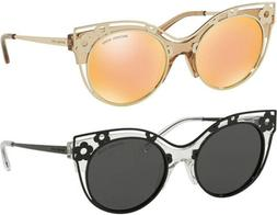 Michael Kors Melbourne Women's Crystal Clear Floral Cat-Eye