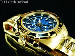 Invicta Men's 48mm Pro Diver Ocean Abyss Chronograph Blue Di