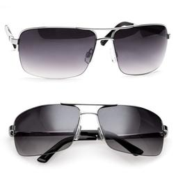 Men's Classic Sunglasses Metal Driving Glasses Aviator Outdo