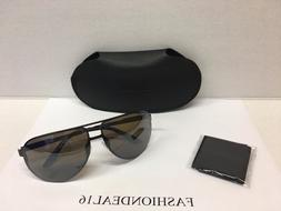 new authentic aviator brown mirrored 102 s