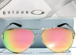NEW* Oakley Caveat POLARIZED Rose Gold in Silver Aviator Wom