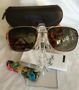e59352eebdb New MAUI JIM WIKI MJ HS246-16 AVIATOR Gold HCL Bronze POLARI