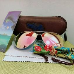New Maui Jim MAVERICKS Polarized Aviators Sunglasses P264-16