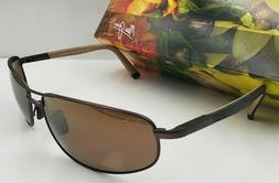 NEW MAUI JIM NORTH POINT MJ272-01M Matte Choco Orange men po