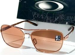 NEW* Oakley Sanctuary Rose Gold AVIATOR 58mm Squared Rose VR