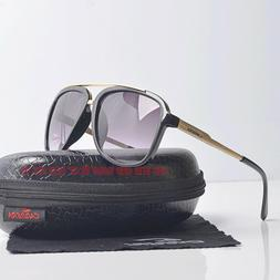 new oversized aviator sunglasses with case men