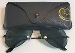 NEW RAY BAN RB3025 002/62 58-14-135 Black/Black Lens 58mm Su