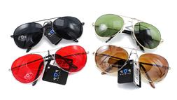 New Small Size Aviator Style Sunglasses in Assorted Colors