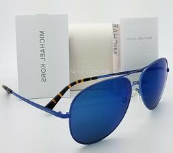 New Michael Kors sunglasses MK5016 117355 60mm Black Blue Av