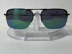 New! Oakley Tailback Sunglasses Satin Black Jade Iridium OO4
