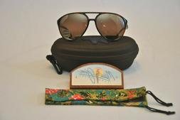 NEW Maui Jim Tortoise Shell Aviator Polarized Sunglasses Gla