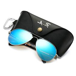 Pro Acme Oversized Aviator Sunglasses for Men Women Polarize