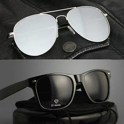 Pack of 2 | Wayfare Super Dark Black & Pilot Aviator Mirrore