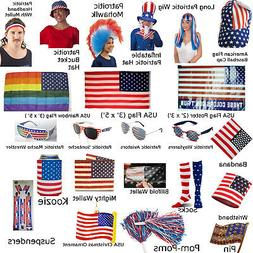 Patriotic American Flag Products  July 4 USA Stars Stripes