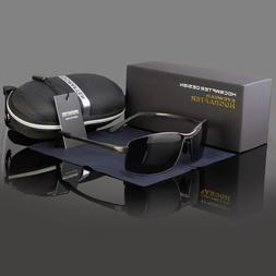 Polarized Driving Aviation Sunglasses Classic Square Full Fr