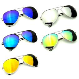Polarized Sunglasses Aviator Men Women Vintage color Mirrore