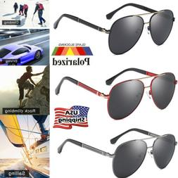 Polarized Sunglasses Unisex Driving Glasses Aviator Outdoor