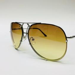 Posche Designer Aviator Sunglasses Metal Frame Color Lens Me